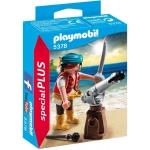 PLAYMOBIL® 5378 Pirat mit Kanone