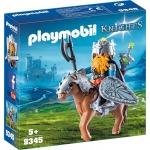 PLAYMOBIL® 9345 Zwerg und Pony mit Rüstung