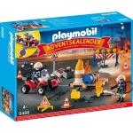PLAYMOBIL® 9486 Adventskalender 'Feuerwehreinsatz auf der Baustelle'