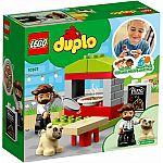 Lego® Duplo® 10927 Pizza-Stand mit Pizza-Verkäufer