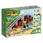 Lego® 10872 Eisenbahnbrücke und Schienen