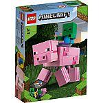Lego® Minecraft 21157 BigFig Schwein mit Zombiebaby