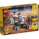 Lego® Creator 31107 Planeten-Erkundungs-Rover
