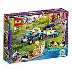 Lego® Friends 41364 Stephanie's Cabrio mit Anhänger