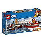 Lego® 60213 Feuerwehr am Hafen