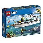 Lego® 60221 Tauchyacht