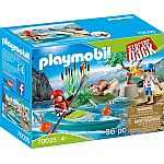 PLAYMOBIL® 70035 Starter Pack Kanu-Training