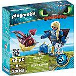 PLAYMOBIL® Dragons 70041 Astrid mit Fluganzug und Nimmersatt