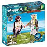 PLAYMOBIL® Dragons 70045 Astrid + Hicks