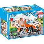 PLAYMOBIL® 70049 Rettungswagen mit Licht & Sound