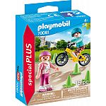 PLAYMOBIL® Special Plus 70061 Kinder mit Skates & BMX