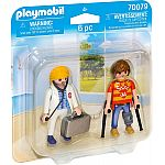PLAYMOBIL® 70079 Ärztin & Patient