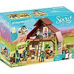 PLAYMOBIL® 70118 Stall mit Lucky, Pru & Agigail