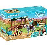 PLAYMOBIL® 70119 Reitplatz mit Lucky & Javier