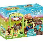 PLAYMOBIL® 70120 Pferdebox 'Snips & Herr Karotte'