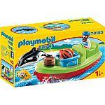 PLAYMOBIL® 70183 Seemann mit Fischerboot