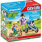 PLAYMOBIL® KiTa 70284 Mama mit Kindern