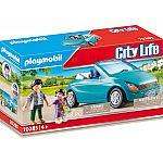 PLAYMOBIL® KiTa 70285 Papa und Kind mit Cabrio