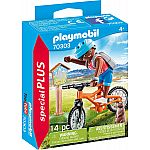 PLAYMOBIL® Special Plus 70303 Mountainbiker auf Bergtour