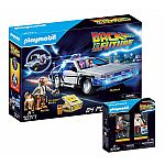 PLAYMOBIL® Back to the future Set: 70317 DeLorean + 70459 Marty McFly und Dr. Emmett Brown