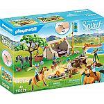 PLAYMOBIL® Spirit 70329 Sommercamp