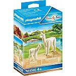 PLAYMOBIL® 70350 Alpaka mit Baby