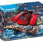 PLAYMOBIL® Piraten 70411 Totenkopf-Kampfschiff