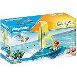 PLAYMOBIL® Playmo Beach Hotel 70438 Segeljolle
