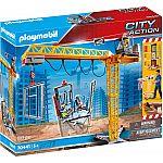 PLAYMOBIL® Grossbaustelle 70441 RC-Baukran mit Bauteil