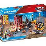 PLAYMOBIL® Grossbaustelle 70443 Minibagger mit Bauteil