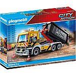PLAYMOBIL® Grossbaustelle 70444 LKW mit Wechselaufbau