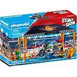 PLAYMOBIL® Stuntshow 70552 Stuntshow-Werkstattzelt
