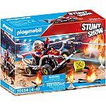 PLAYMOBIL® Stuntshow 70554 Feuerwehrkart