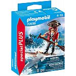 PLAYMOBIL® Special Plus 70598 Pirat mit Floß und Hammerhai
