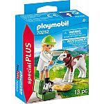 PLAYMOBIL® Special Plus 70252 Tierärztin mit Kälbchen
