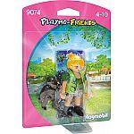PLAYMOBIL® 9074 Tierpflegerin mit Gorillababy