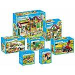 PLAYMOBIL® 70132 Großer Bauernhof Komplettset, 7-teilig