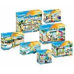 PLAYMOBIL® Playmo Beach Hotel 70434 7-teiliges Komplettset