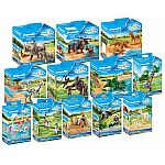 PLAYMOBIL® 12 Tiere-Sets für den 70341 Mein großer Erlebnis-Zoo